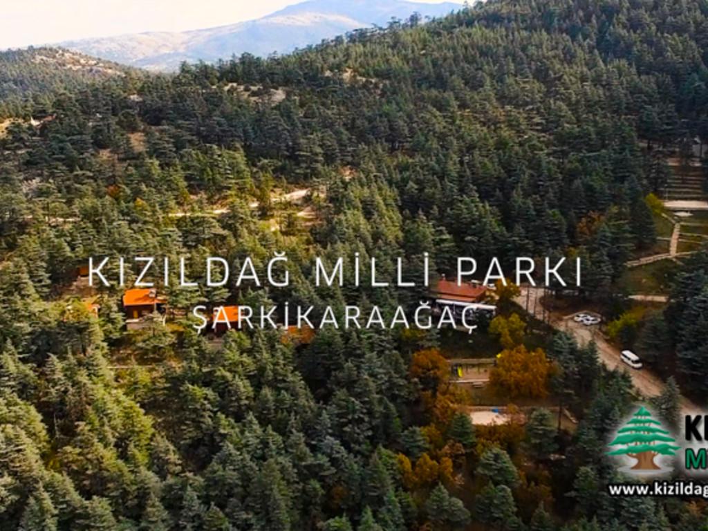 Kızıldağ Milli Parkı Havadan Çekim