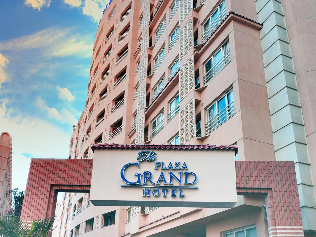 Main Entrance of The Grand Plaza Hotel Smouha, Alexandria