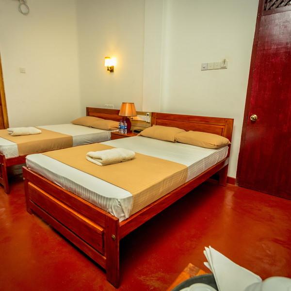 Room # 102 2 Single Beds Deluxe